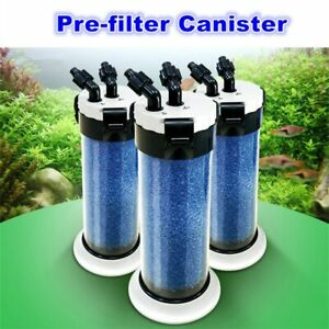 External Aquarium Pre Filter Sponge Fish Tank Canister for Water Pond Filtration