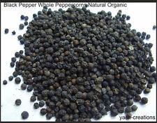 High quality Indian Black Pepper Whole Pepper corns Natural Organic - 100g