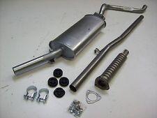 Auspuff Auspuffanlage Abgasanlage 3tlg. VW Scirocco 1 70-75PS Serie 1 Bj. 74-79