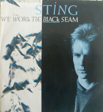 """7"""" 1985 IN MINT-! STING (POLICE) We Work The Black Seam"""