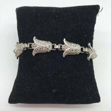 """""""925"""" Silver Flower Bracelet"""