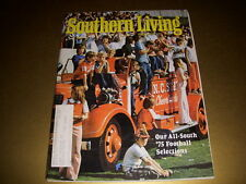 SOUTHERN LIVING Magazine, September, 1975, ALL-SOUTH '75 FOOTBALL, NATIONAL MALL