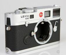 Brand New Unused Leica M6 TTL Rangefinder Film Camera Silver 0.85 x 10466