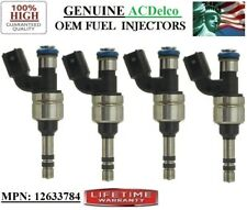 x4 NEW Fuel Injectors OEM ACDelco/ MODELS: 2010-2017 GMC & Buick & Chevy 2.4L I4