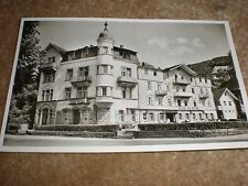 postcard Hotel Deutscher Hof Herranalb Germany c1954