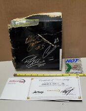 Wrecked Sheet Metal Autographed Dale Earnhardt #3, Choclet Myer, R.Childres RARE