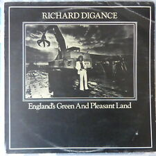 RICHARD DIGANCE LP ENGLAND'S GREEN AND PLEASANT LAND 1974 UK VG+/VG++
