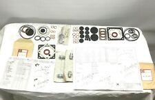 Lot of- Leybold Vacuum Pump Parts: O-Rings Gaskets Seals Adapter & Bushing Kits