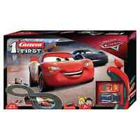 Disney Cars 1:50 Electronic Carrera Racing System Track & 2 Cars Toy Playset