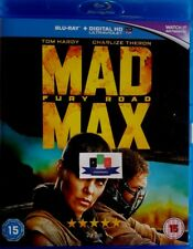 Mad Max: Fury Road (Tom Hardy) Blu-Ray 2015 *Brand New and Unsealed*