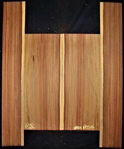 Guitar Luthier Tonewood PAU ROSA Acoustic backs sides set