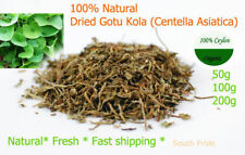 CEYLON DRIED GOTU KOLA (Centella Asiatica) 100% Natural Free Shipping