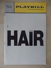 August 1969 - Biltmore Theatre Playbill - Hair - Keith Carradine - Sally Eaton