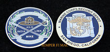 MCRD BOOT CAMP COIN US MARINE KILO LIMA MIKE INDIA CO SAN DIEGO GIVE BOOT DI WOW