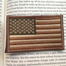 USA FLAG UNITED STATE 3D National Flag EMBROIDERED HOOK & LOOP PATCH/Ver2