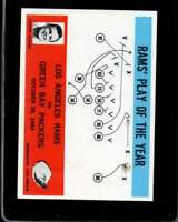1965 PHILADELPHIA #98 HARLAND SVARE VG+ LA RAMS RAMS PLAY OF THE YEAR  *XR13679