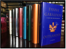 Outlander Series 8 Volume Set ALL ✎SIGNED✎ by DIANA GABALDON Brand New Hardbacks