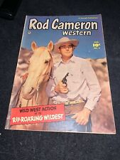 Rod Cameron #4 (1950 Fawcett) ungraded but around 7+ high gloss cover