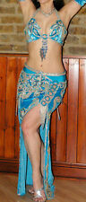 Turquoise Professional Belly Dance Costume