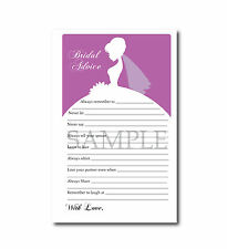 Set of 5 Purple Orchid Bridal Wedding Shower Printable Party Games