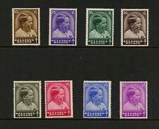 Belgium 1936 #B180-7 Prince Baudouin 8v. Mnh J941
