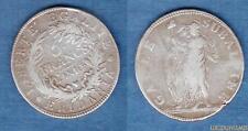 Italie 5 Francs L'An 9 Gaule Subalpine Napoléon Ier TB TTB - Italia