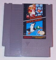 Vintage Super Mario Bros and Duck Hunt NES Cartridge Nintendo System Game 1985