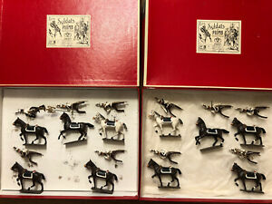 CBG Mignot: 2 Boxed Sets - French Lancers Band, c1815. Post War