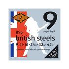 Rotosound BS9 British steels - Jeu de cordes guitare électrique - 9-42 for sale