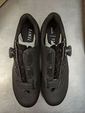 New Black Fizik Tempo R5 Overcurve Size 38 Road Cycling Shoes