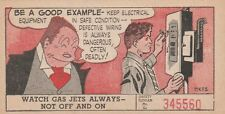1953 Journal-American Lucky Safety Cards #41 Jiggs (Bringing Up Father)