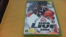 NBA LIVE 2002   XBOX NUOVO