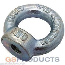 M10 Thread BZP Steel DIN 582 Lifting Eye Nut FREE POSTAGE!!!