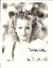TWINKLE WATTS BOWS IN HAIR SIGNED PHOTO AUTOGRAPHED W/COA 8X10