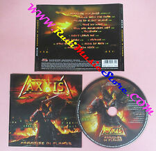 CD AXXIS Paradise In Flames 2006 Germany AFM RECORDS  no lp mc dvd vhs (CS53)