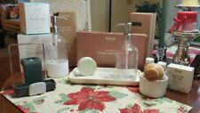 Grove Limited Tray + Hand & Dish Soap Dispensers, Bubble Up, Sink Caddy, soap