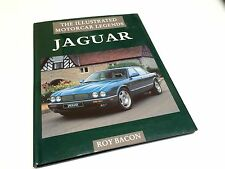 Jaguar Illustrated Motorcar Legend By Roy Bacon ©1996 Hardcover Book Brochure
