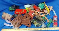 HUGE VTG TOY LOT 80s-90s Dinosaur Army Action Figures SK3 Diecast Model Car
