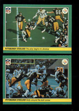 1984 Fleer Pittsburgh Steelers Set JACK LAMBERT WALTER ABERCROMBIE CLIFF STOUDT