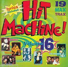 HIT MACHINE 16 CD 19 Max Trax