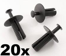 20x Opel Pare-choc & Protection Anti Projection Plastique Rivet Carrosserie