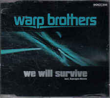 Warp Brothers-We will Survive cd maxi single