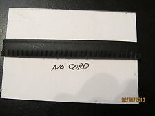 """GENUINE LEATHER PIPING Welting Trims 1/2"""" No Cord Slashed Edge  Black 10 yds"""
