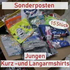 Jungen T-Shirts lang + kurz | Restposten | Sonderposten | Lagerräumung Neuware