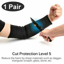 1 Pair Cut Proof Cut-Resistant Sleeve Gloves Outdoor Work Safety Protective Arm