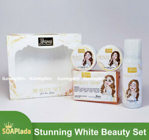 Yasuy Stunning White Beauty Set by SOAPlada (New Packaging)