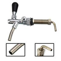4 Inch Draft Beer Faucet Adjustable G5/8 Tap Tower Flow Controller For Kegerator