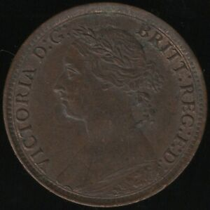 1886 Victoria Farthing Coin   British Coins   Pennies2Pounds