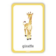 BRAND NEW FLASH CARDS! ANIMALS set. CREATIVELY drawn.