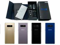 ⭐ Factory Unlocked ⭐ Samsung Galaxy NOTE 8 64GB T-Mobile Metro LycaMobile N950U